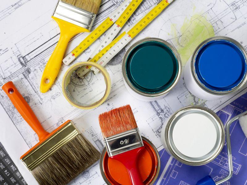 Home renovation, blueprints, adding value, house